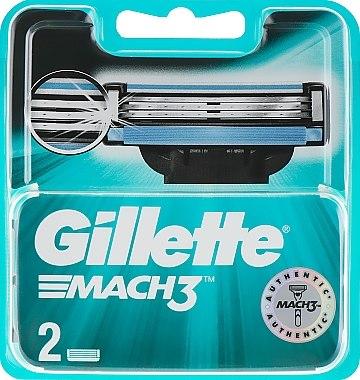 Lames de rechange pour rasoir, 2 pcs - Gillette Mach3