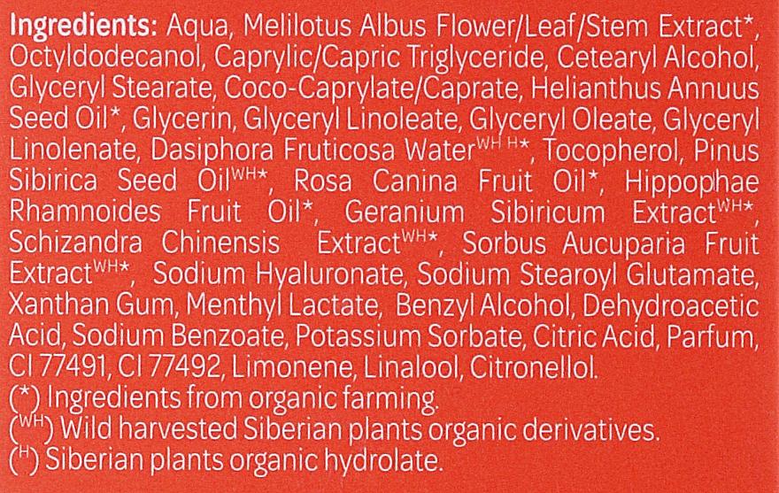 Masque bio à l'hydrolat de thé de kourile pour visage - Natura Siberica Organic Instant Glow Fase Mask — Photo N2