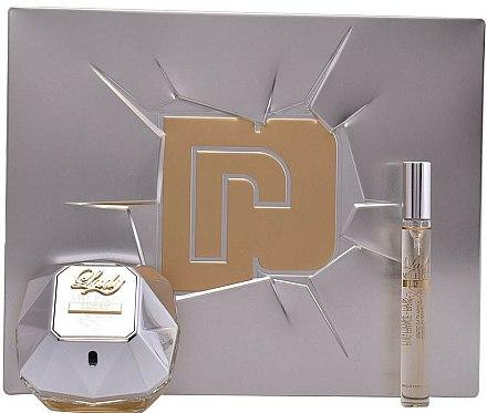 Paco Rabanne Lady Million Lucky - Coffret (eau de parfum/80ml + eau de parfum/10ml)