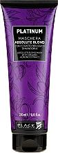 Parfums et Produits cosmétiques Masque bio à l'extrait d'amande pour cheveux - Black Professional Line Platinum Absolute Blond Mask