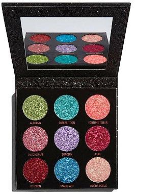 Palette de paillettes pressées - Makeup Revolution Pressed Glitter Palette Abracadabra