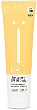 Parfums et Produits cosmétiques Crème solaire pour corps - Naif Sunscreen Body Spf30
