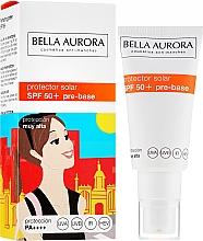 Parfums et Produits cosmétiques Crème solaire pour visage - Bella Aurora Protector Solar Pre-Base SPF50+