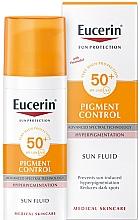 Parfums et Produits cosmétiques Fluide contre l'hyperpigmentation pour visage - Eucerin Sun Protection Pigment Control SPF50+