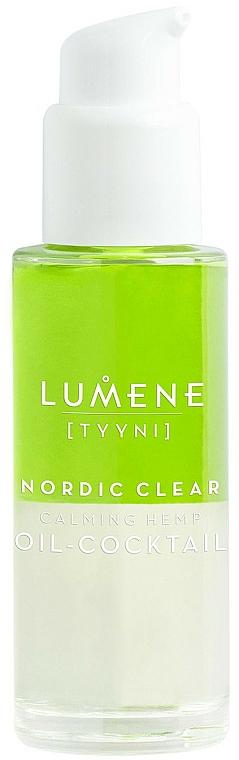 Cocktail-huile à l'huile de graines de chanvre pour visage - Lumene Nordic Clear Calming Hemp Oil-Cocktail — Photo N1
