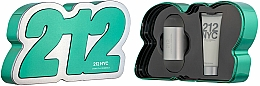 Parfums et Produits cosmétiques Carolina Herrera 212 NYC - Coffret (eau de toilette/60ml + lotion pour corps/75ml)