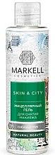 Parfums et Produits cosmétiques Gel micellaire démaquillant pour visage, Trémelle fucus - Markell Cosmetics Skin&City