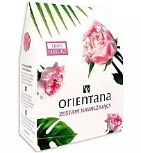 Parfums et Produits cosmétiques Orientana - Set (beurre pour corps/100g + lotion tonique/100ml + masque pour contour des yeux/1pcs)