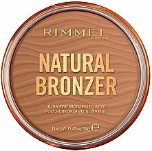 Parfums et Produits cosmétiques Poudre bronzante pour visage - Rimmel Natural Bronzer Waterproof Powder
