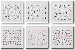 Parfums et Produits cosmétiques Autocollants pour ongles 42959 - Top Choice Nail Decorations Stickers Set