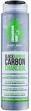 Parfums et Produits cosmétiques Masque nettoyant au bambou et charbon noir pour visage - Diet Esthetic Black Bamboo Carbon Charcoal Face Mask 3in1