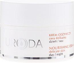 Parfums et Produits cosmétiques Crème de jour et nuit aux vitamines A&E - Uroda Nourishing Face Cream For Sensitive Skin