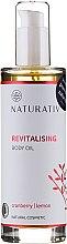 Parfums et Produits cosmétiques Huile revitalisante aux canneberges et citron pour corps - Naturativ Revitalizing Body Oil