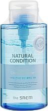 Parfums et Produits cosmétiques Eau nettoyante à l'extrait de pomme pour visage - The Saem Natural Condition Sparkling Cleansing Water