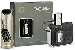 Parfums et Produits cosmétiques Armaf Tag Him For Men - Set (déodorant/200ml + eau de toilette/100ml)