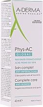 Parfums et Produits cosmétiques Soin anti-imperfections matifiant à l'acide glycolique pour visage - A-Derma Phys-AC Global Severe Blemish Care