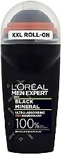 Parfums et Produits cosmétiques Déodorant roll-on - L'Oreal Paris Men Expert Black Mineral Deo Roll-On