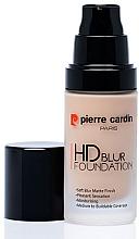 Parfums et Produits cosmétiques Fond de teint - Pierre Cardin HD Blur Foundation