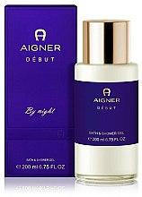 Parfums et Produits cosmétiques Aigner Debut By Night - Gel bain et douche