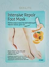 Parfums et Produits cosmétiques Masque-chaussettes réparateur à l'extrait de calendula pour pieds - Skinlite Intensive Repair Foot Mask