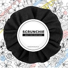 Parfums et Produits cosmétiques Chouchou, noir, Suede Classic - MakeUp Hair Accessories