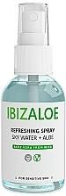 Parfums et Produits cosmétiques Spray rafra^chissant à l'aloe vera pour corps et visage - Ibizaloe Sky Water Aloe Vera