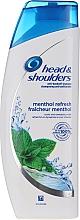 Parfums et Produits cosmétiques Shampooing à la menthe - Head & Shoulders Menthol
