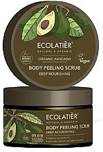 Parfums et Produits cosmétiques Gommage à l'huile d'avocat bio pour corps - Ecolatier Organic Avocado Body Peeling Scrub