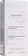 Parfums et Produits cosmétiques Correcteur pigmentaire éclaircissant pour visage et cou - Bioderma Pigmentbio C Concentrate Brightening Pigmentation Corrector