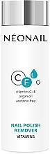 Parfums et Produits cosmétiques Dissolvant aux vitamines C et E pour vernis à ongles - NeoNail Professional Nail Polish Remover