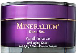 Parfums et Produits cosmétiques Crème au beurre de karité pour visage - Minerallium Youth Source Anti-Aging Cream