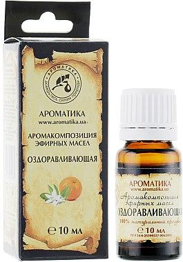 Complexe d'huiles essentielles naturelles Guérison - Aromatika