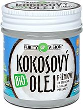 Parfums et Produits cosmétiques Huile de coco non parfumée - Purity Vision Bio Coconut Oil