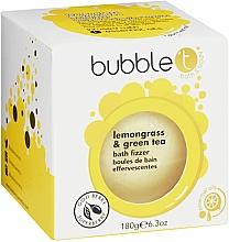 Parfums et Produits cosmétiques Bombe de bain, Thé vert et citronnelle - Bubble T Bath Fizzer Lemongrass Green Tea