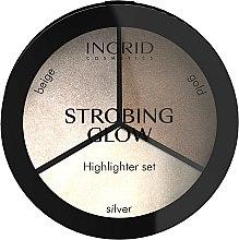 Parfums et Produits cosmétiques Enlumineur visage - Ingrid Cosmetics Strobing Glow Palette
