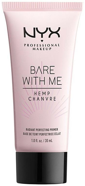 Base de teint - NYX Professional Makeup Bare With Me Hemp Radiant Perfecting Primer