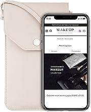 Parfums et Produits cosmétiques Étui beige pour téléphone Cross - Makeup Phone Case Crossbody Beige