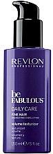 Parfums et Produits cosmétiques Lotion à la kératine, vitamine B5 et E pour cheveux - Revlon Professional Be Fabulous Daily Care Fine Hair Volume Texturizer