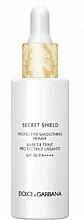 Parfums et Produits cosmétiques Base de teint protectrice et lissante - Dolce & Gabbana Secret Shield Protective Smoothing Primer SPF50 PA++++