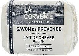 Parfums et Produits cosmétiques Savon de Provence au lait de chèvre - La Corvette Provence Soap Goat Milk