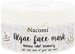 Parfums et Produits cosmétiques Masque aux algues et myrtilles pour visage - Nacomi Professional Face Mask