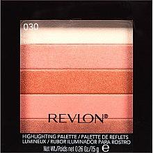 Parfums et Produits cosmétiques Palette de reflets lumineux - Revlon Highlighting Palette