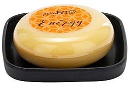 Parfums et Produits cosmétiques Savon bio avec porte-savon, Orange - PuroBio Home Organic Energy