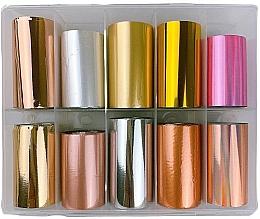 Parfums et Produits cosmétiques Feuilles de transfert pour ongles, MIX 1 - Deni Carte