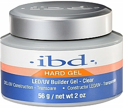 Parfums et Produits cosmétiques Gel de construction UV/LED transparent - IBD LED/UV Builder Clear Gel
