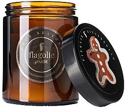 Parfums et Produits cosmétiques Bougie parfumée en verre, Pain d'épices - Flagolie Fragranced Candle Gingerbread