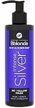 Parfums et Produits cosmétiques Masque anti-jaunissement pour cheveux - Jerome Russell Bblonde Intense Silver No Yellow Mask