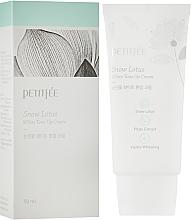 Parfums et Produits cosmétiques Crème au lotus de neige pour visage - Petitfee&Koelf Snow Lotus White Tone Up Cream