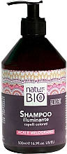 Parfums et Produits cosmétiques Shampooing à la grenade et baies d'açaï - Renee Blanche Natur Green Bio Illuminante Shampoo