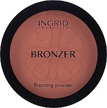 Parfums et Produits cosmétiques Poudre compacte bronzante pour visage - Ingrid Cosmetics HD Beauty Innovation Bronzing Powder